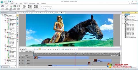 Screenshot VSDC Free Video Editor Windows 10
