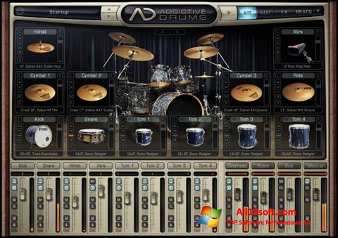 Screenshot Addictive Drums Windows 10