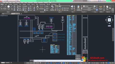Screenshot AutoCAD Electrical Windows 10