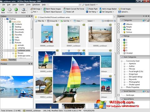 Screenshot ACDSee Photo Manager Windows 10