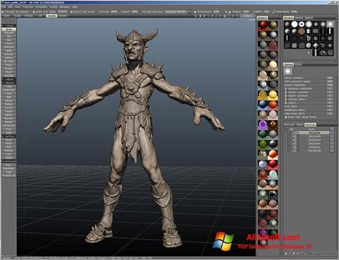 Screenshot 3D-Coat Windows 10