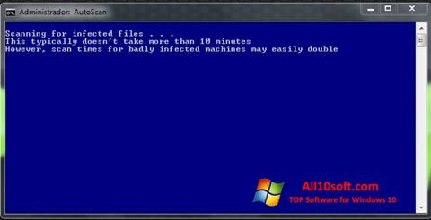 Screenshot ComboFix Windows 10