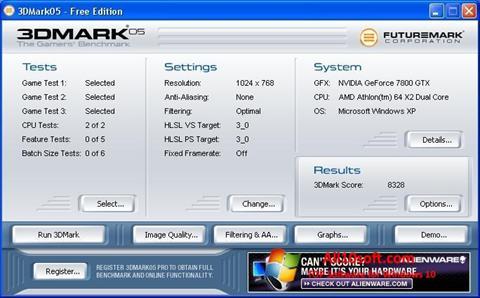 Screenshot 3DMark Windows 10