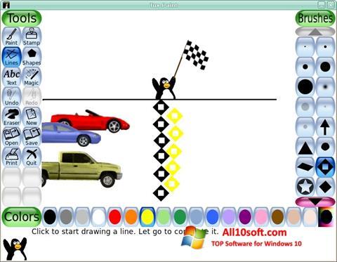 Screenshot Tux Paint Windows 10