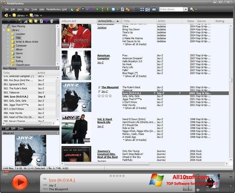 Screenshot MediaMonkey Windows 10