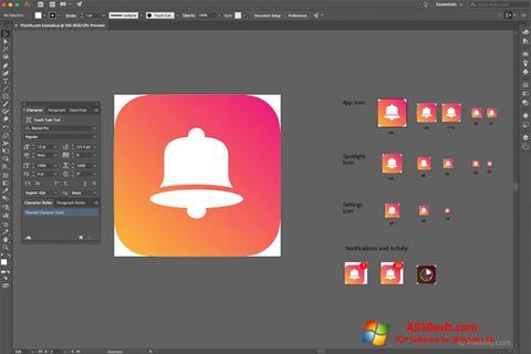 Screenshot Adobe Illustrator CC Windows 10