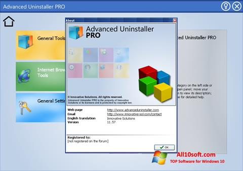 Screenshot Advanced Uninstaller PRO Windows 10