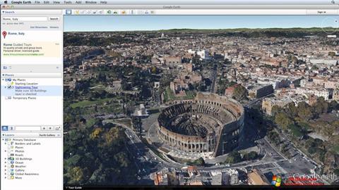Screenshot Google Earth Windows 10