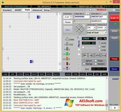 Screenshot Victoria Windows 10