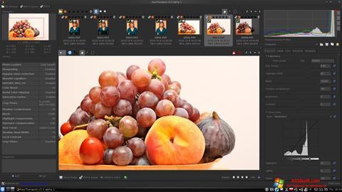 Screenshot RawTherapee Windows 10