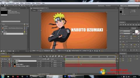 Screenshot Adobe After Effects Windows 10