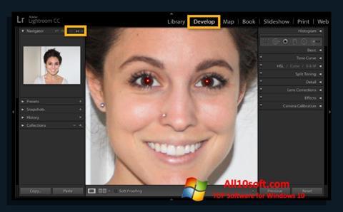 Screenshot Red Eye Remover Windows 10