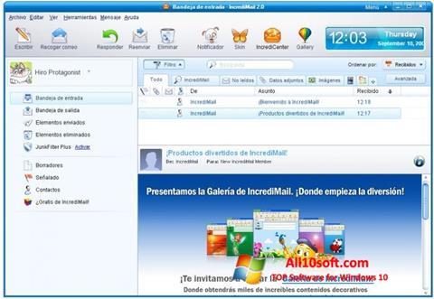 Screenshot IncrediMail Windows 10