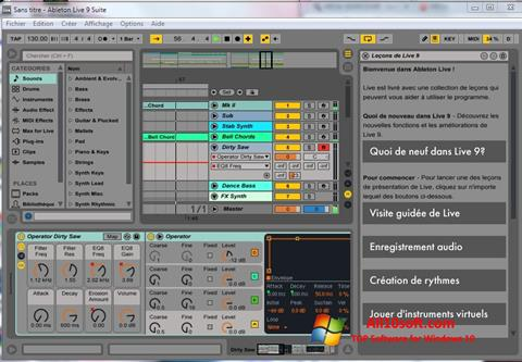 Screenshot Ableton Live Windows 10