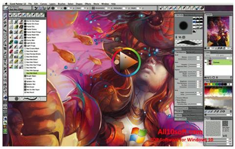 Screenshot Corel Painter Windows 10