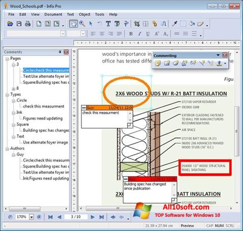 Screenshot Infix PDF Editor Windows 10