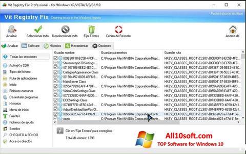 Screenshot Vit Registry Fix Windows 10