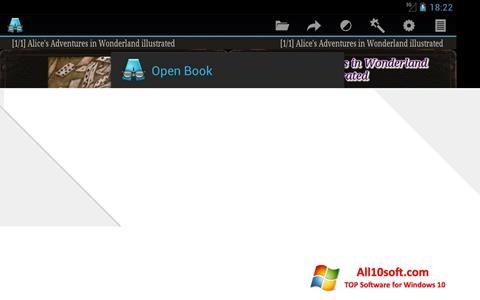 Screenshot AlReader Windows 10