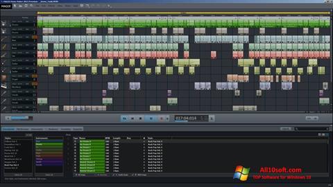Screenshot MAGIX Music Maker Windows 10