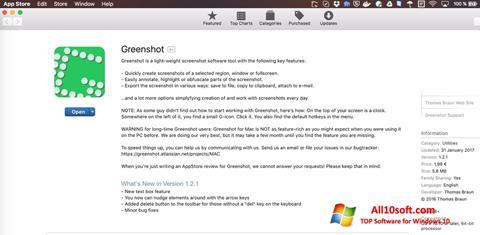 Screenshot Greenshot Windows 10