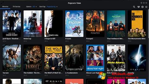 Screenshot Popcorn Time Windows 10