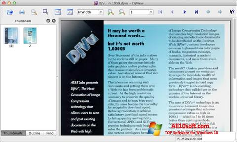 Screenshot DjView Windows 10