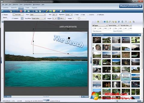 Screenshot Ashampoo Photo Commander Windows 10