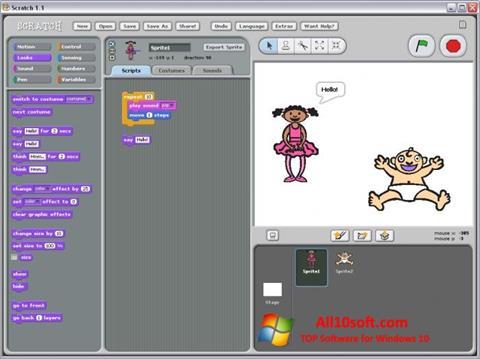 Screenshot Scratch Windows 10